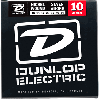 Dunlop Electric Nickel Wound 7-String