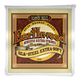 Ernie Ball Earthwood Acoustic 80/20 Bronze Silk & Steel