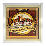 Ernie Ball Earthwood Banjo 80/20 Bronze 5-string