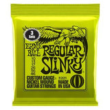 Ernie Ball Slinky Nickel Electric 3-Pack