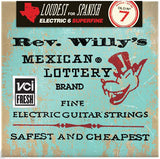 Dunlop Electric Rev. Willy's Lottery Billy Gibbons