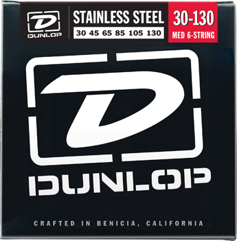 Dunlop Bass Stainless Steel 6-String