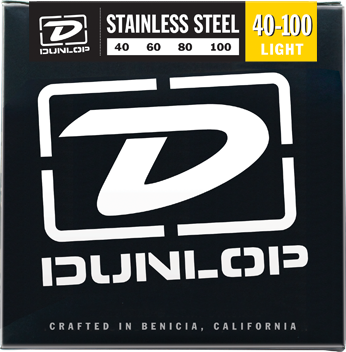 Dunlop Bass Stainless Steel