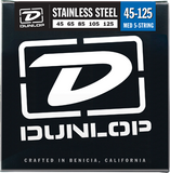 Dunlop Bass Stainless Steel 5-String