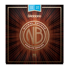 D'Addario Acoustic Nickel Bronze 12-String