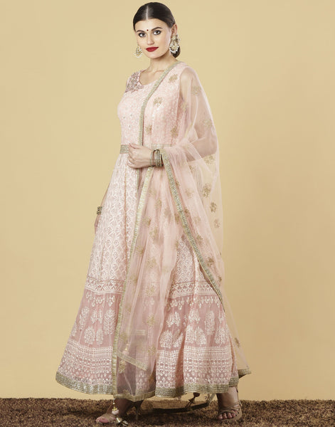 Meena Bazaar : Georgette Suit Set