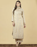 Meena Bazaar : Cotton Tissue Suit Set
