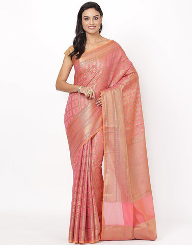 Cotton Woven Saree