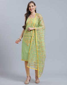 Chanderi Suit Set