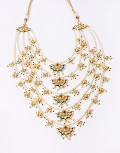 MBZ Meena Bazaar-Gold Plated Pearl Necklace