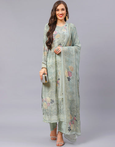 Sea Green Salwar Kameez