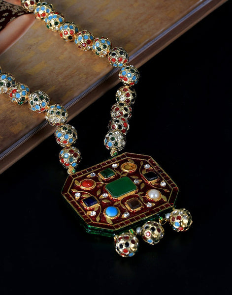 MBZ Meena Bazaar-Meena Bazaar Necklace Set