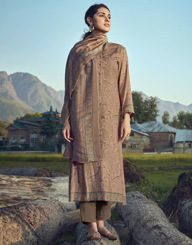 Printed Spun Suit Set
