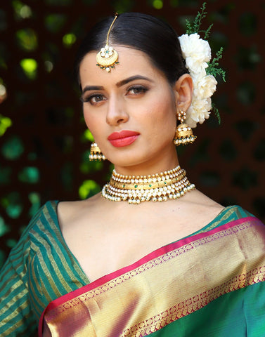MBZ Meena Bazaar-Beautiful Choker Set