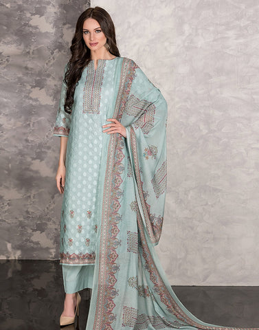 MBZ Meena Bazaar-Cotton Printed Suit Set