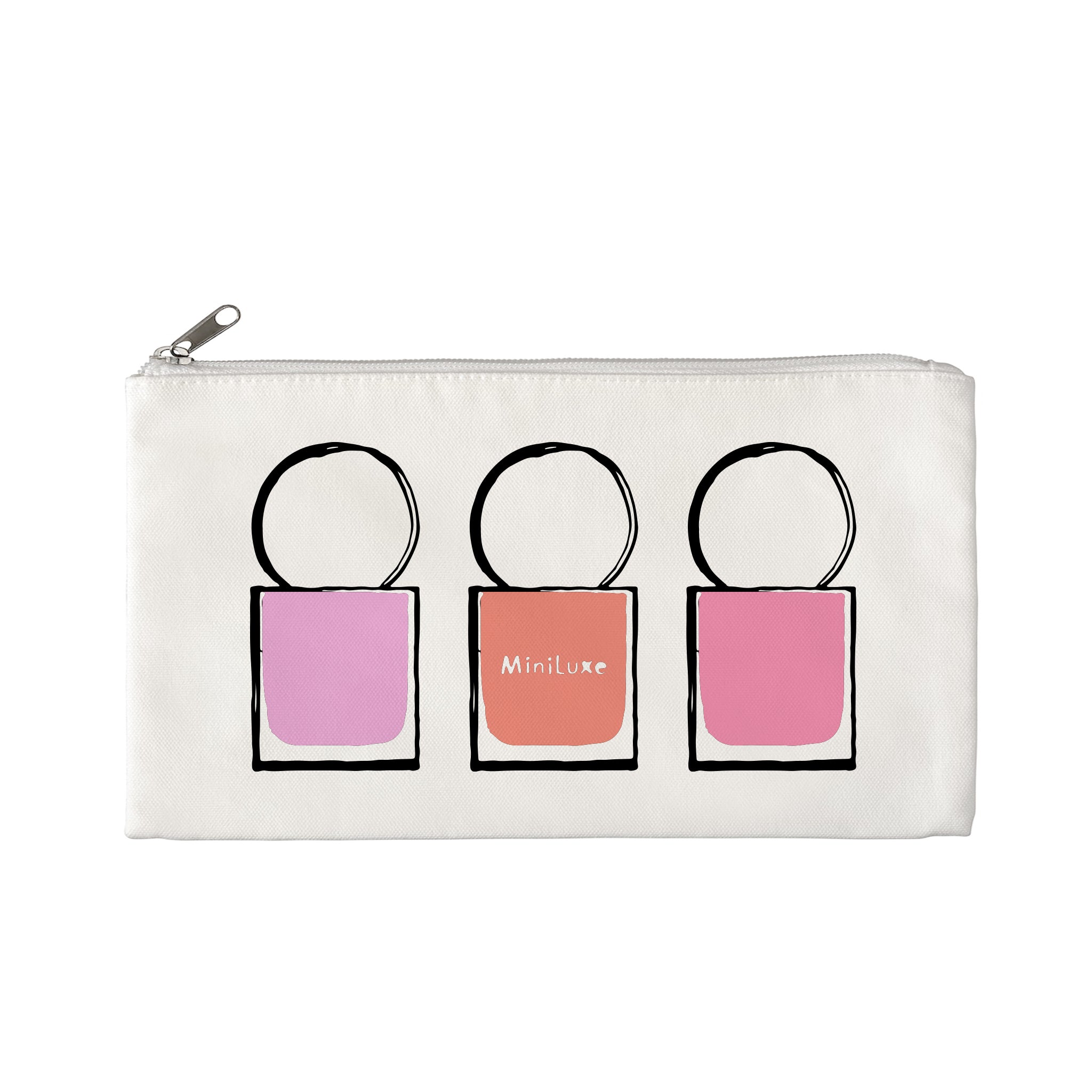 MiniLuxe Canvas Zip Bag