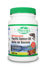 Pacific Salmon Oil (Wild Harvested Pacific)