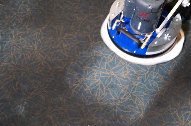 HOS Orbot Cleaning Carpet