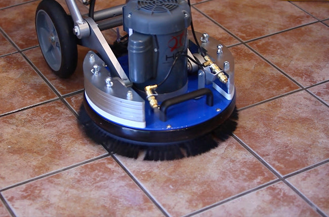 HOS Orbot Cleans Tile & Grout