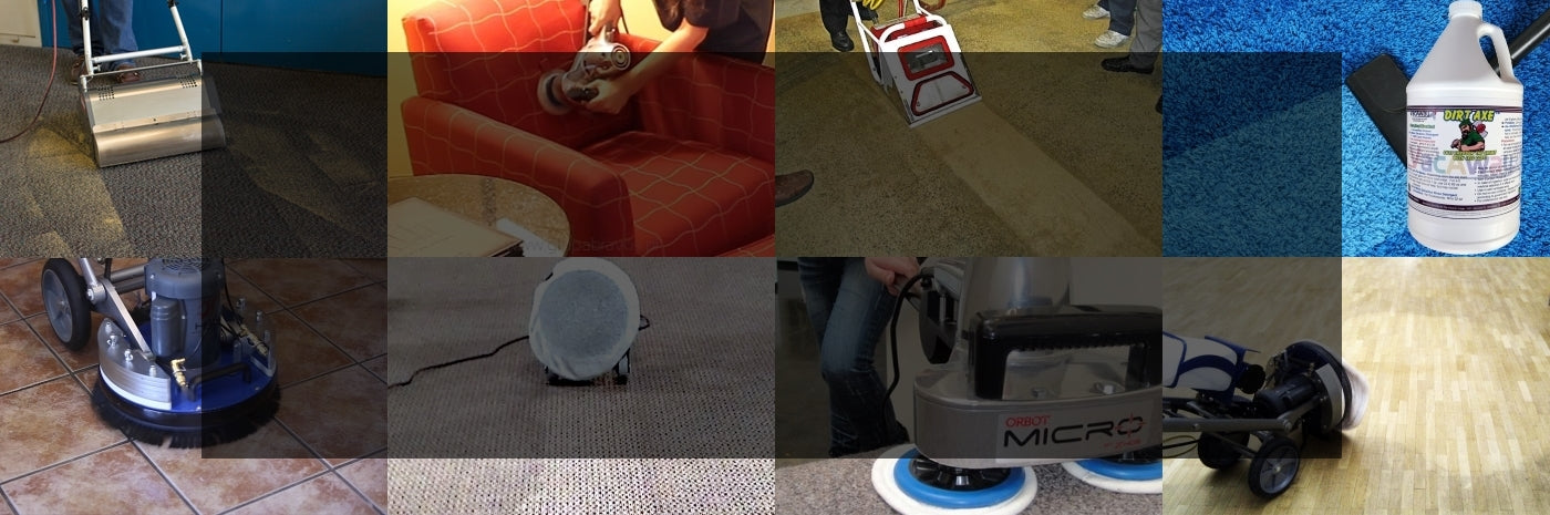 Carpet Cleaning Equipment & Supplies