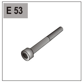 Part E-53 (Cylinder Head Screw)