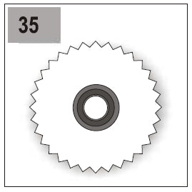 Part E/G-35 (Gear 66 Right)