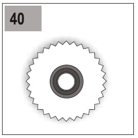 Part E/G-40 (Gear 66 Left)