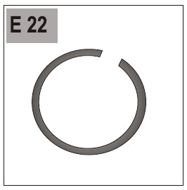 Part E/G-22 (Retainer Ring A 17)