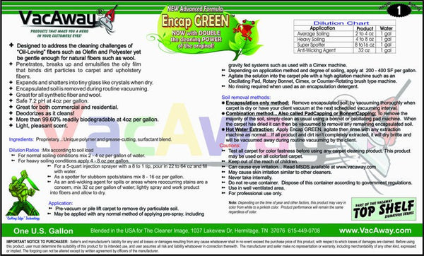 Encap Green Smart Cleaning Solutions