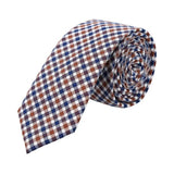 Corbata Royal Flush estampado gringham