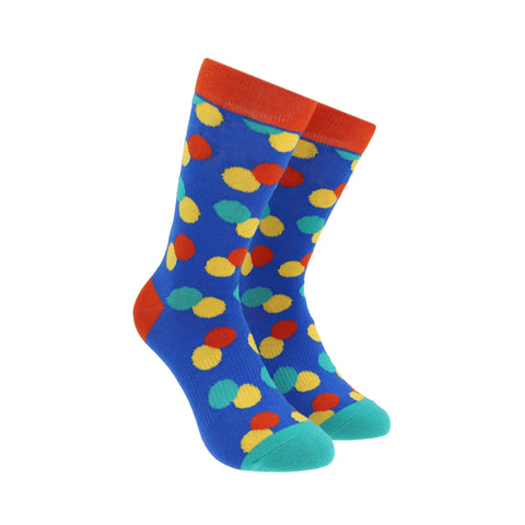 Calcetines Royal Flush bolitas dobles varios colores