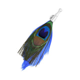 Pin Royal Flush de broche diseño de pluma de pavo real