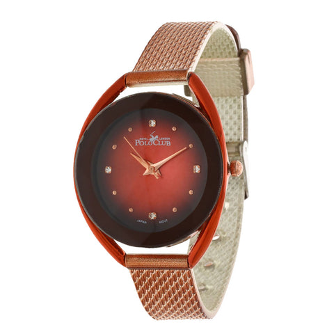 Reloj Polo Club Teddington Casual para Dama