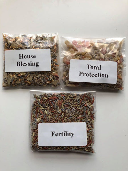 Resin/herb blend - Fertility