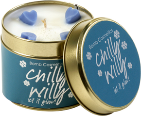 Bomb Cosmetics Chilly Willy Tin Candle