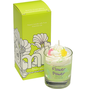 Bomb Cosmetics Flower Power Piped Candle