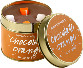 Bomb Cosmetics Gift Sets Chocolate Orange Tin Candle