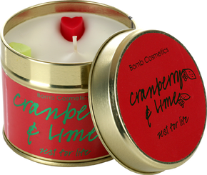 Bomb Cosmetics Gift Sets Cranberry & Lime Tin Candle