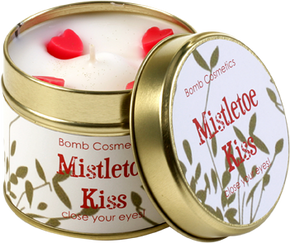 Bomb Cosmetics Gift Sets Mistletoe Kiss Tin Candle