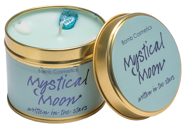 Bomb Cosmetics Gift Sets Mystical Moon Tin Candle