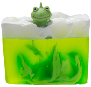 Bomb Cosmetics Its Not Easy Being Green Soap Slice