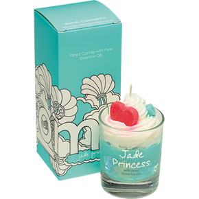 Bomb Cosmetics Jade Princess Piped Candle