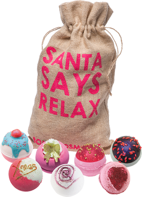 Bomb Cosmetics Santa Says Relax Gift Bag