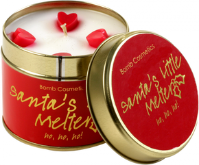 Bomb Cosmetics Santas Little Melter Tin Candle