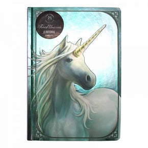 Half Moon Bay A5 Note Book - Forest Unicorn