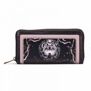 Half Moon Bay Anne Stokes Night Forest Wolf Purse