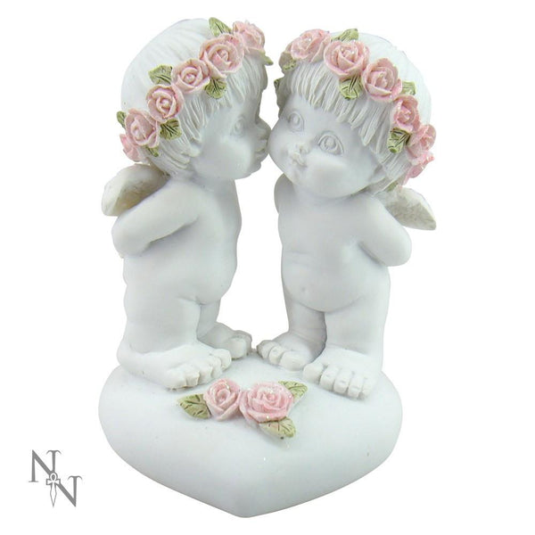 Love Luscious cherubs Sweet Rose Affection