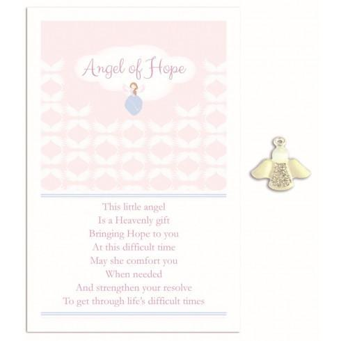 Naturally Herbal Incense Angel of Hope Angel Pin