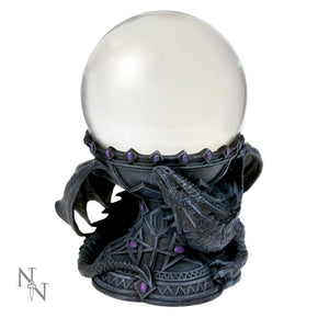 Nemesis Now Anne Stokes Dragon Beauty Crystal Ball Set