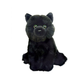 Spirit Earth 25.5cm Floppy Black Cat